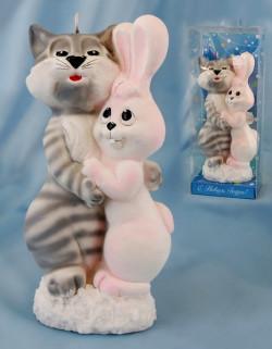 Встречаем год Белого Кролика (Кота)