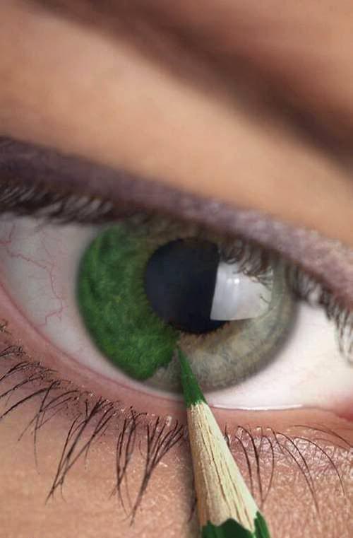 Макияж под зеленые глаза