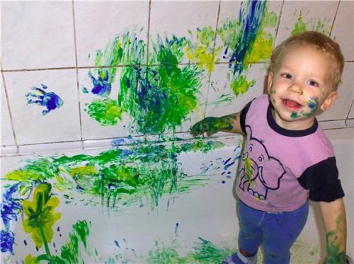 Творческие поиски юного художника