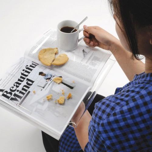 Чтение во время еды