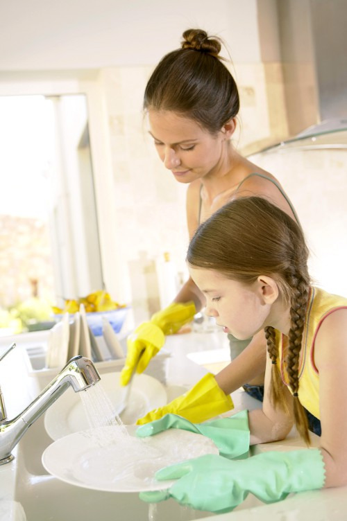 Мочалка для посуды из кремплена