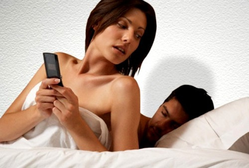 Смс в телефоне мужа от любовницы