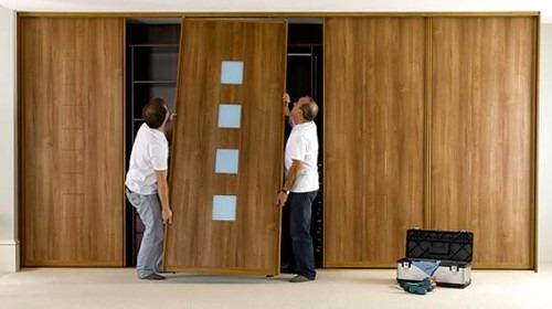 Ремонт дверей шкафа