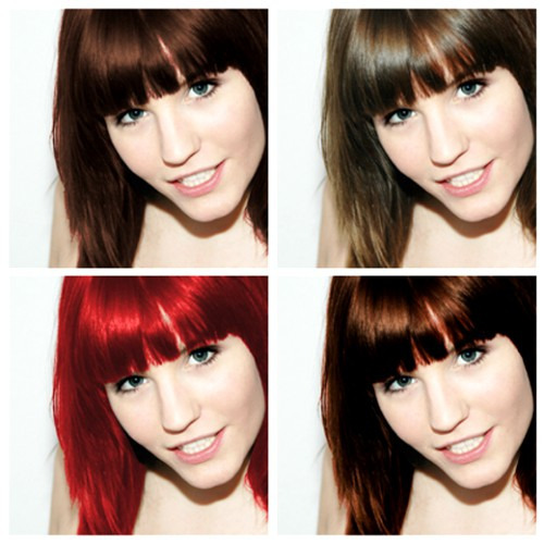 Если вы решили изменить цвет волос