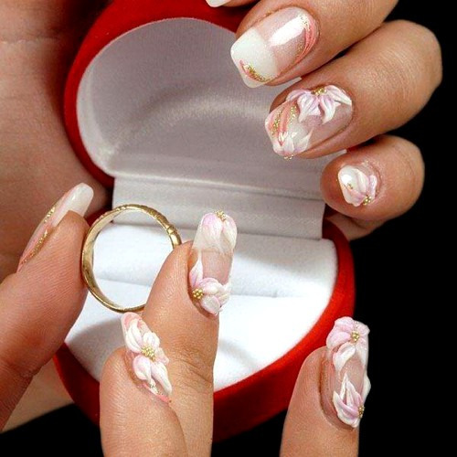 Каким должен быть свадебный маникюр