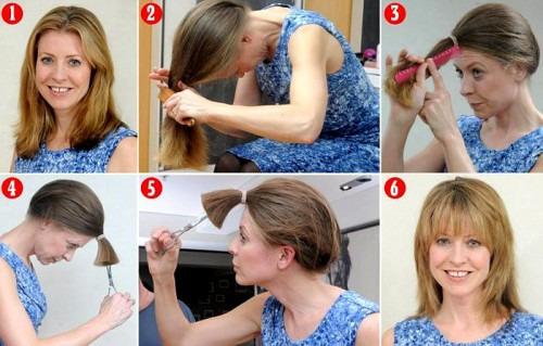 Как легко и просто подстричь себя?