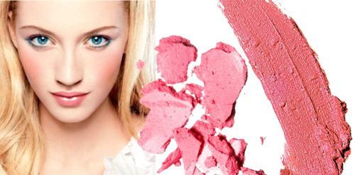 Модный тренд осени - яркие румяна