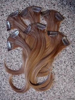 Выбираем накладные пряди волос