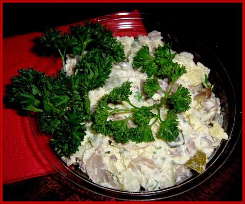 Новогодний салат по-австрийски