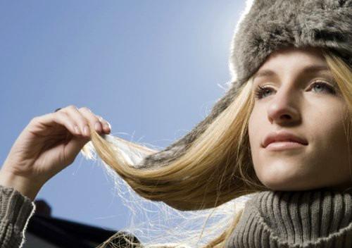 Уход за волосами в зимний период времени