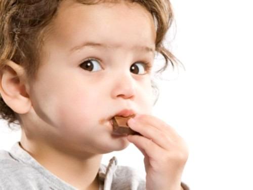 Можно ли детям кушать шоколад?