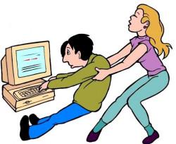 Зависимость подростков от компьютера