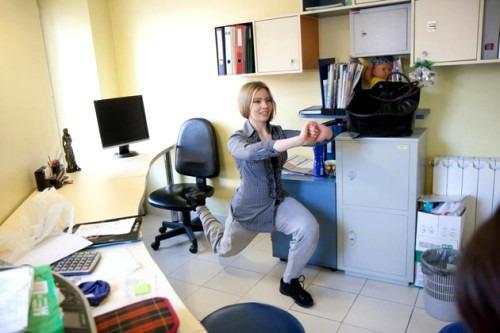 Работа в офисе. Как увеличить физическую нагрузку в повседневности?
