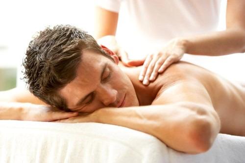 Романтический массаж после ванны
