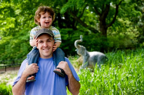 В зоопарк с ребенком