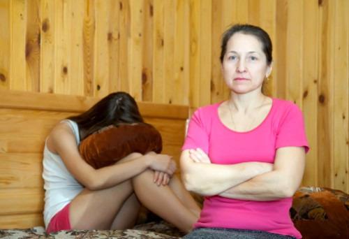 Общение с дочерью - подростком