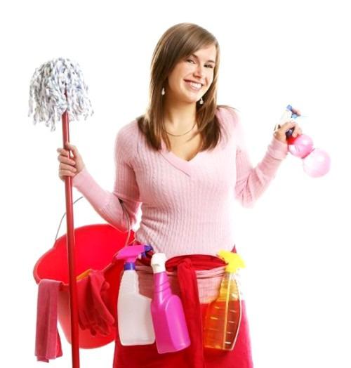 Делаем с удовольствием уборку в доме