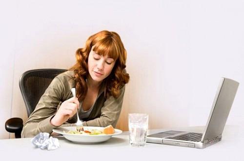 Как правильно питаться в офисе