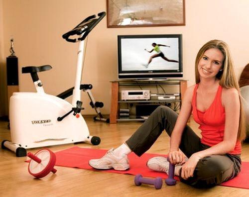 Домашний фитнес: за и против