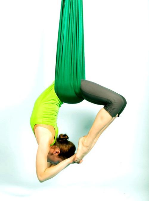Антигравити йога - новое направление фитнеса