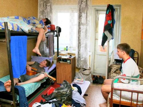 Жизнь в общежитии. Действительно - мука?