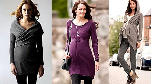 Как одеться беременной