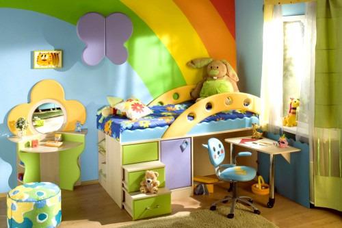 Создаём уют в детской комнате своими руками