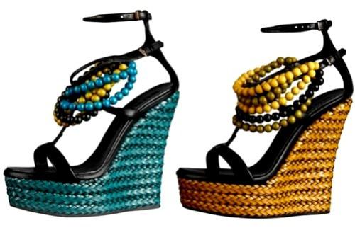 Обувь 2014. Модные летние тренды