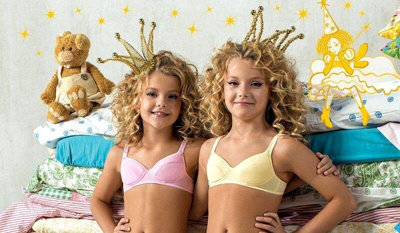 Как выбрать первый бюстгальтер для девочки?