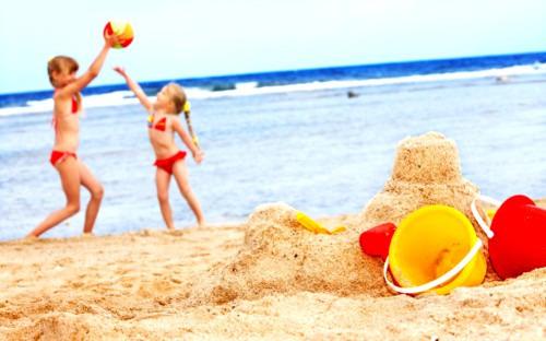 Пляжные развлечения для детей