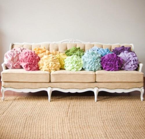 Интересные декоративные подушки своими руками
