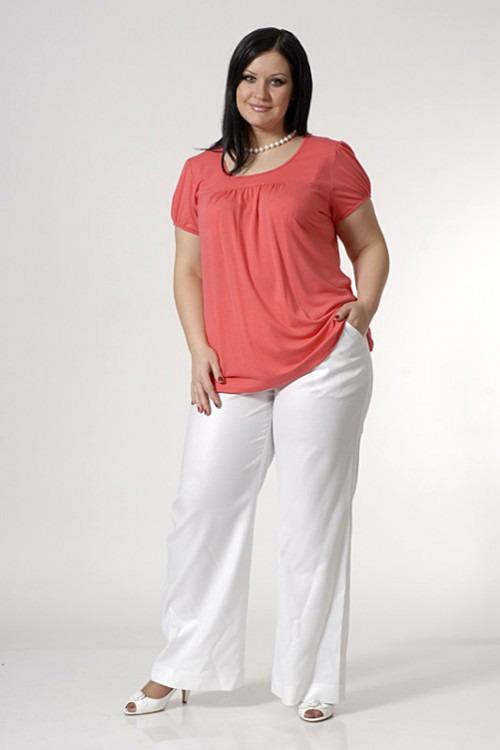 Как выбирать и с чем носить брюки полным женщинам