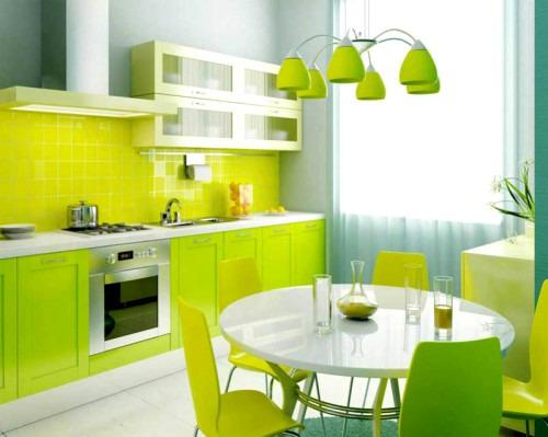 Цветовые решения для отделки кухонных стен