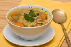 Куриный суп с вермишелью по всем правилам