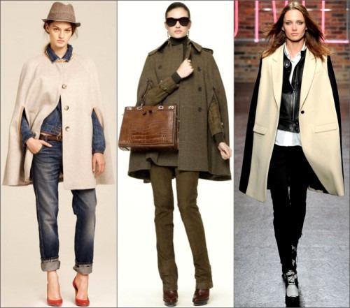 Кейп – это пальто - накидка