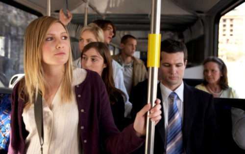Как оставаться спокойной в общественном транспорте?