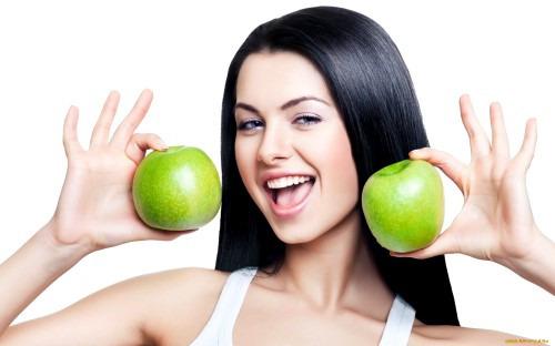 Рацион питания для здоровой кожи