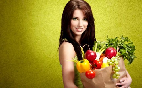 Правильное питание для красивых волос