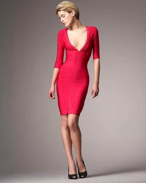 Бандажные платья Herve Leger - красота, не требующая жертв!