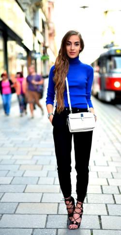 Уроки стиля: носить водолазки – не скучно!