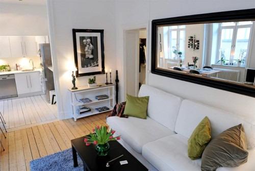Как визуально увеличить пространство маленькой комнаты
