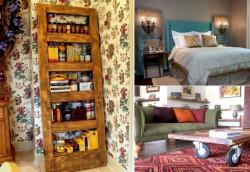 Превратите старые двери в декоративные элементы для своего дома