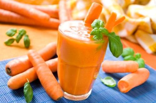 Морковный сок для твоего здоровья