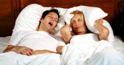 Если муж храпит по ночам