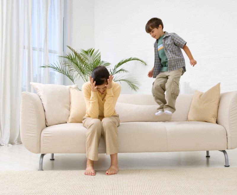 Воспитание капризного ребёнка