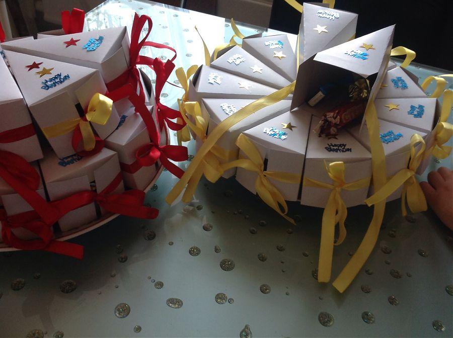 Подарочная упаковка «Тортик»