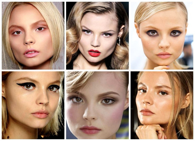 Простые варианты макияжа