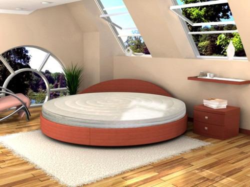 Покупать или нет круглую кровать?