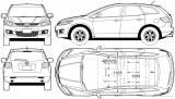 Паркетник схематично: Mazda CX-5