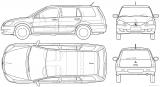 Универсал схематично: Mitsubishi Lancer